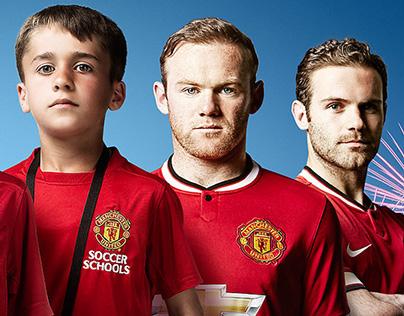 Manchester United Soccer School inAzerbaijan