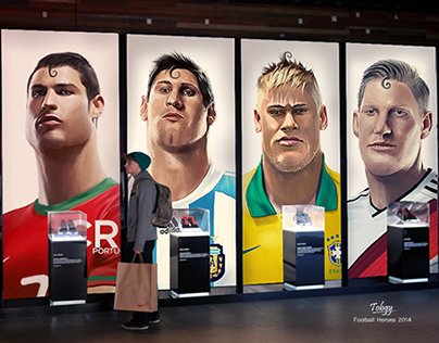 Digital Football HEROES 2014