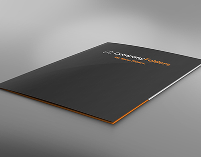 [Free PSD] Low Presentation Folder Mockup Template
