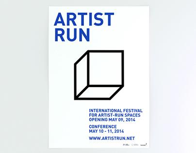 Artist Run Festival Identity