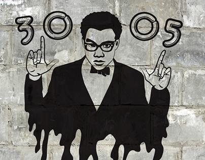 Street Art for Childish Gambino
