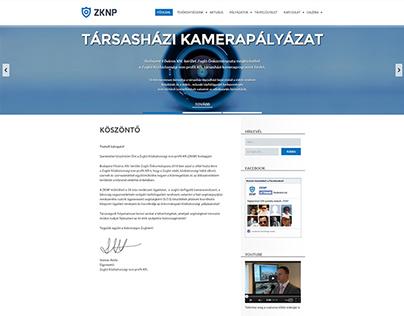 ZKNP webdesign