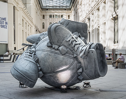 Nike - Sneakerball Sculpture