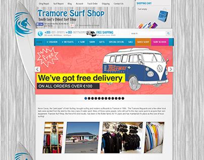 Tramore Surf Shop Website
