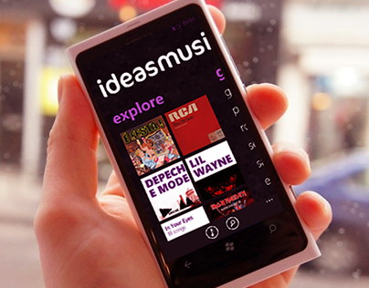 ideasmusik Windows Phone Application