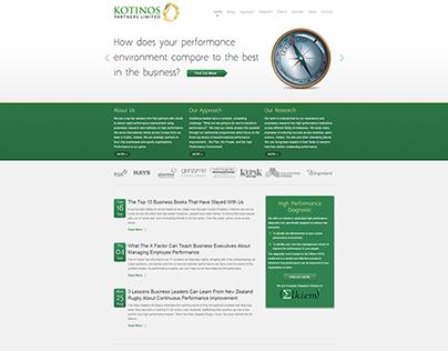 Kotinos Website