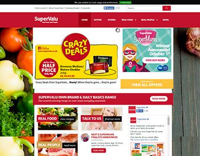 SuperValu Website