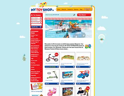MyToyShop Website