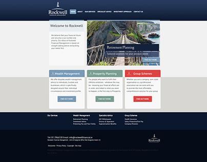 Rockwell Financial Management Website
