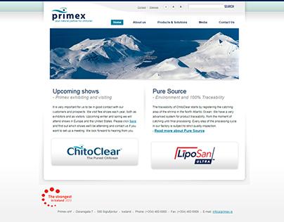 Primex Website