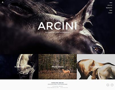 Arcini   Professional Horse Photographer Website