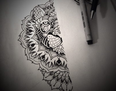 New sketch for tattoo