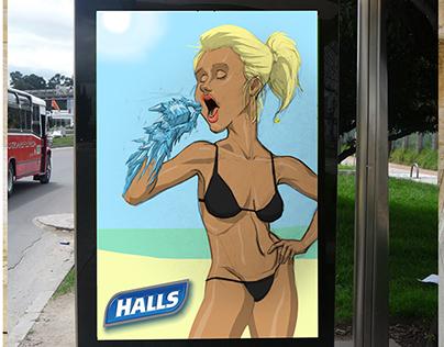 Refreshing Hot Fays - Halls