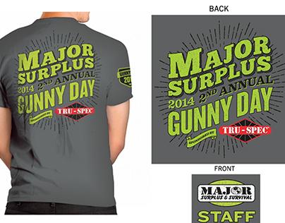 T-Shirt Design for Gunny Day 2014