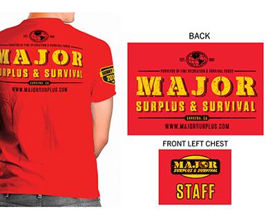 T-Shirt Design for Gunny Day 2013