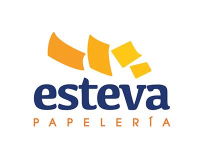 Papelería Esteva Rebrand