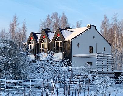 Загородный дом в поселке Молодежное