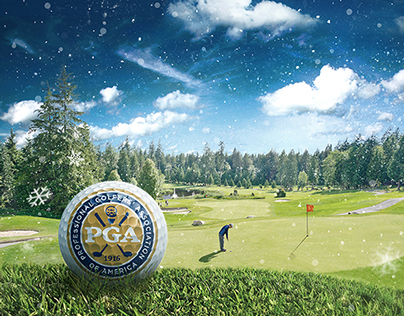 Professional Golfers' Association (PGA) Holiday Card