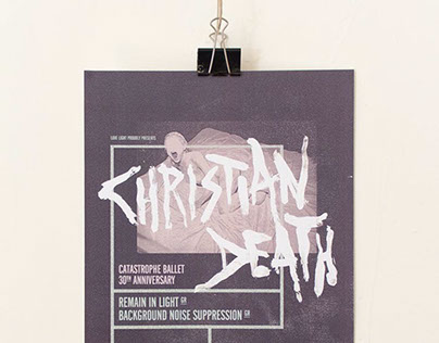 Christian Death poster
