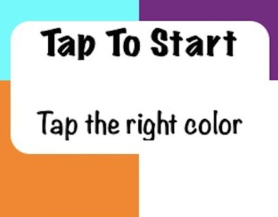 Color Tap - 4 color touch game