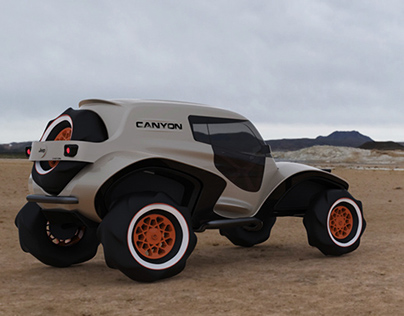 Jeep Canyon - vision concept -