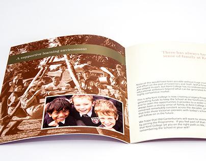 Kent College - Legacy Brochure