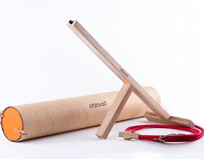 Handmade LEd Lamp T1