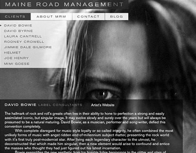 Maine Road Management