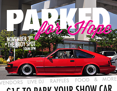 Parked for Hope Charity Show