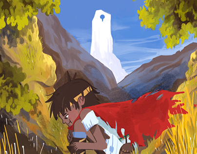 The Discovery/ A RiMe fanart