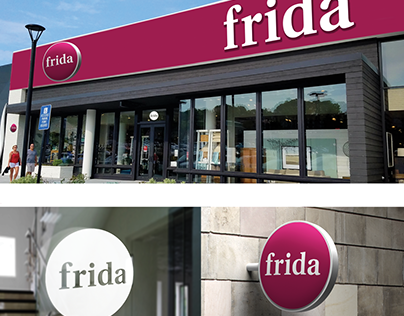 FRIDA - Diseño de marca e identidad