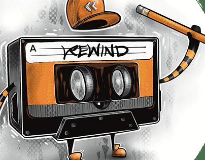 Rewind - The Retro Cassette