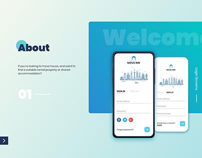 Hose Rentals App Design