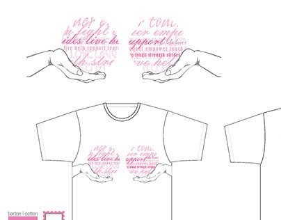 Barton Cotton Susan G. Komen Race for the Cure T-Shirt