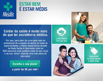 Médis Landing Page