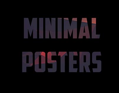 Minimal Posters