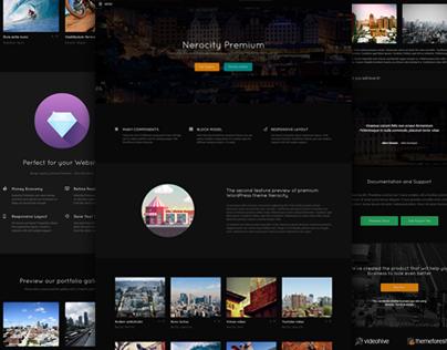Nerocity Premium WordPress Theme