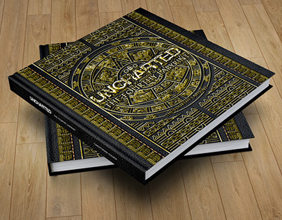 Redesign Livro Uncharted The Fourthy Labirint