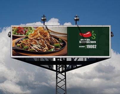 Chilis Billboard