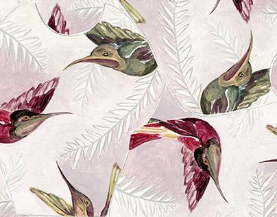 Textile print design 4