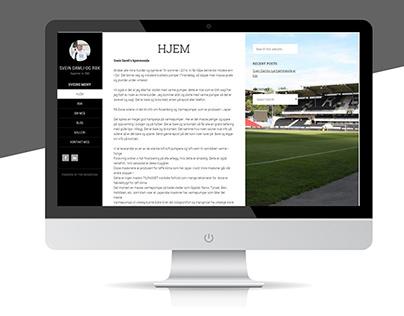 WordPress Theme Damlis homepage