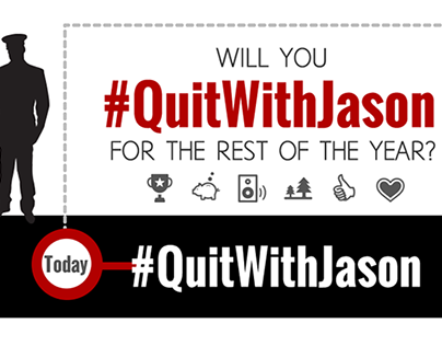 #QuitWithJason Infographic