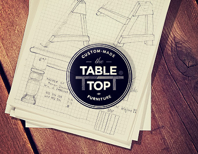TableTop - Hand-crafted furniture - branding & website