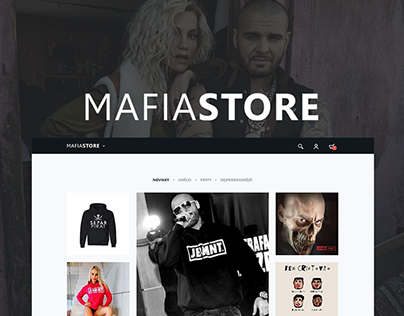 MAFIASTORE (e-shop)