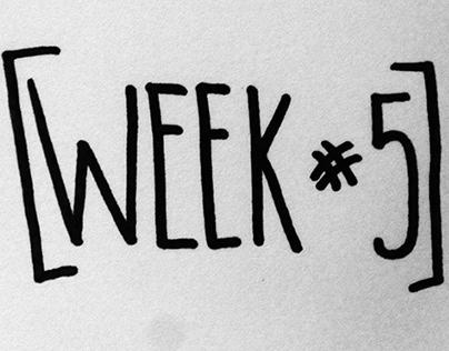 Week 5: Illustration, Identity & Pattern