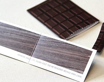Mármore Chocolate, um delicioso motivo para criar.