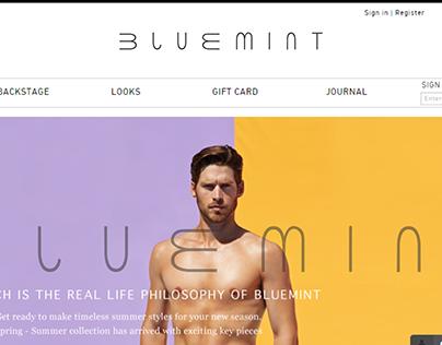 bluemint : Re-Branding Concept