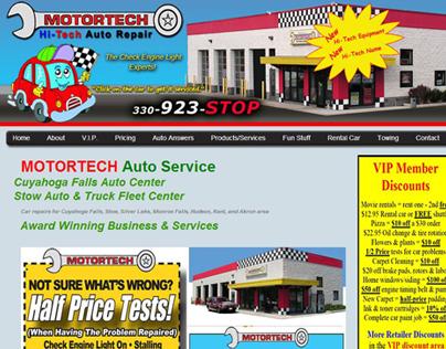 Motortech - Responsive Website Design