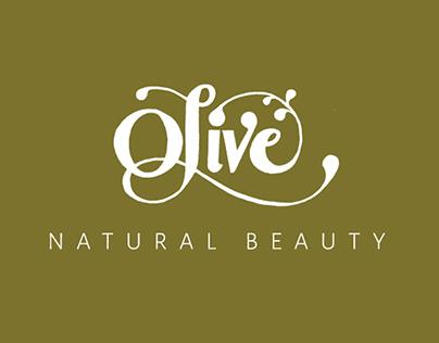 Olive Natural Beauty Branding