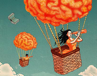 Hot Brain Balloon